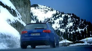 Download Audi RS6 Vs Para-skier: French Alps Race (HQ) | Top Gear | BBC Video