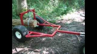 Download ATV Log Skidder Arch Hauler Video