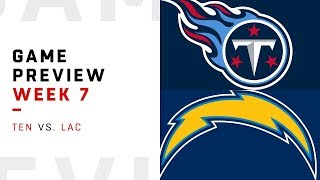 Download Tennessee Titans vs. Los Angeles Chargers | Week 7 Game Preview | NFL Film Review Video
