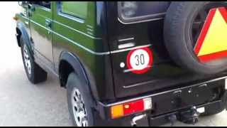 Download Suzuki sj410 30km/h Video