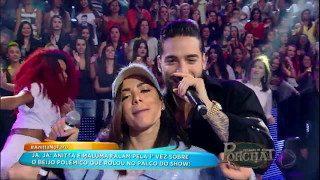 Download Anitta e Maluma cantam o sucesso 'Sim ou Não' Video