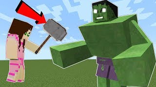 Download Minecraft: THE HULK!!! (HULK WILL SMASH YOU!!) Mod Showcase Video