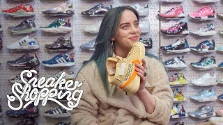 Download Billie Eilish Goes Sneaker Shopping With Complex Video