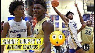 Download ″THIS IS MY CITY″ Sharife Cooper vs Anthony Edwards CRAZY HYPE BATTLE!! McEachern vs Holy Spirit Video