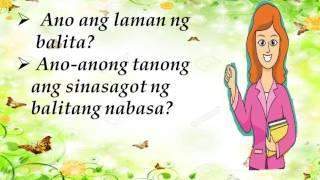 Download VIDEO LESSON SA FILIPINO 3 ARALIN 26 IKALIMANG ARAW Video