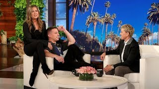 Download Charlie Puth Gets a Surprise from Jennifer Aniston Video