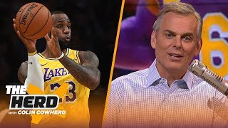 Download LeBron's move to PG is 'perfect,' Kawhi can be in MJ's 'class' with Clippers title | NBA | THE HERD Video