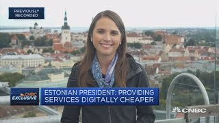 Download Estonian president: We have a generation grown up communicating digitally | In The News Video