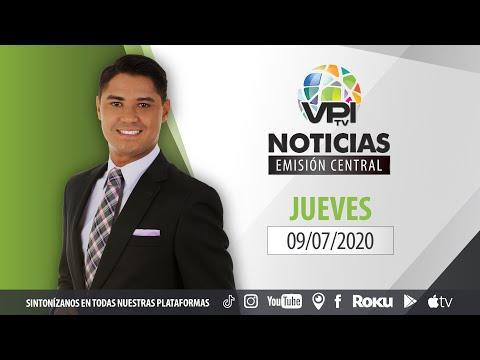 EN VIVO - Noticias VPItv Emisión Central - Jueves 9 de Julio