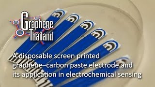 Download GT: A disposable screen printed GCP electrode and its application in electrochemical sensing Video