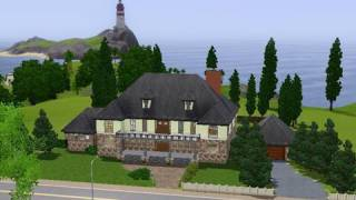 Download Building a Hilltop Mansion in the Sims 3 Video