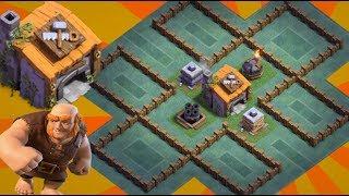 Download Best BH6 Base Builder Hall 6 Base Layout Anti 2 Star Anti Giant Anti Archer Anti Barbarian Video
