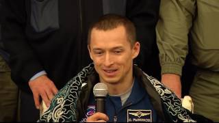 Download Expedition 50 Crew Receives a Warm Welcome in Kazakhstan Video
