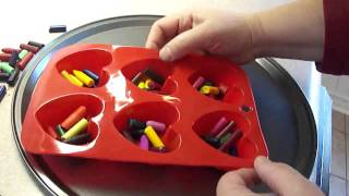 Download How to make heart shaped crayons Video
