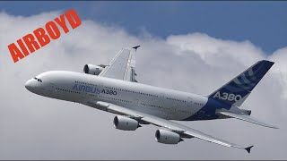 Download Airbus A380 Farnborough Airshow 2014 4K Video
