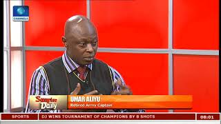 Download Pres Buhari Cannot Continue To Maintain A 'Guarded Silence' - Umar Aliyu  Sunrise Daily  Video