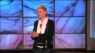 Download Ellen Degeneres in Thigh High Boots Video