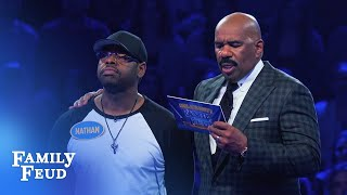 Download Nathan Morris & Chris Kirkpatrick Fast Money! | Celebrity Family Feud Video