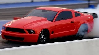 Download Boosted GT New Mustang First Test Hit on No Prep Track (and it breaks) Video