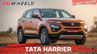 Download Tata Harrier Review| Price Starts at 12.69 Lakh | Tata Takes On The Compass | ZigWheels Video