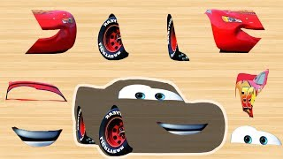 Download Disney cars Mcqueen Wrong Part by Masha Puzzle Kids Rhymes | Finger Daddysong Video