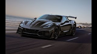 Download 2019 Chevrolet Corvette ZR1 top-speed testing in Papenburg, Germany Video