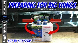 Download Step By Step Setup Of A SUNSUN Canister Filter , Its A Must For The Aquarium Fish Going In This Tank Video