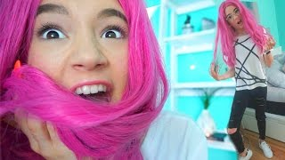 Download TEEN Wears BRIGHT Kylie Jenner WIG (First Time)... FionaFrills Video