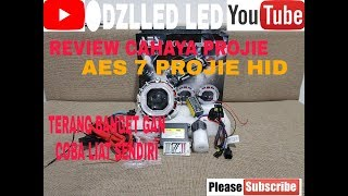Download REVIEW SINAR CAHAYA PROJIE HID 4.5 INC PROJECTOR AES 7!! MANTAP SUPER TERANG Video