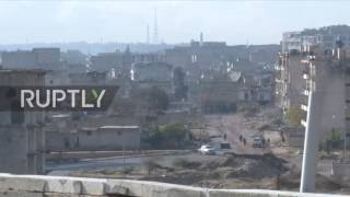 Download Syria: SAA launch offensive in SE neighbourhoods of Aleppo Video