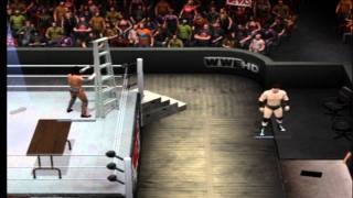 Download Smackdown Vs Raw 2011 How to get on to the announcers table & how to trigger a secret cut scene Video