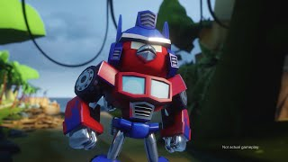 Download Angry Birds Transformers Comic-Con trailer Video
