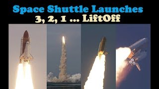Download Space Shuttle Liftoff Compilation 👨🏼🚀 (T-10 Countdown ⏱) Video