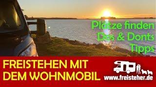 Download Freistehen mit dem Wohnmobil - Wie Plätze finden, Dos und Dont's (Freicampen,Autark)) Video
