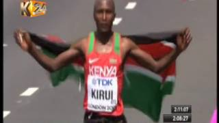 Download Geoffrey Kirui wins Kenya her first gold in the London world championships Video