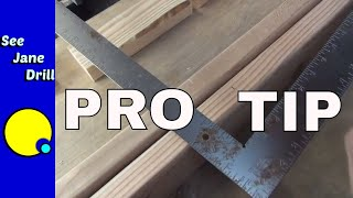 Download Use the Hidden Tool in a Framing Square Video