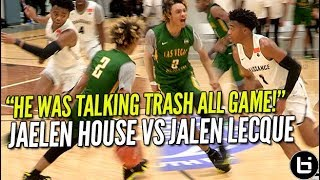 Download That Shadow Mountain Boy Jaelen House Vs Jalen Lecque! Battle at Nike EYBL! Ballislife Highlights Video