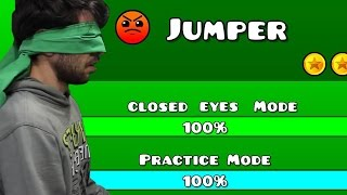 Download Geometry Dash - Level Seven Closed Eyes Video