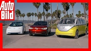 Download VW I.D. Familie (2021) Fahrbericht VW-Elektro-Familie Video