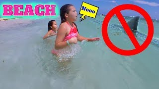 Download SHARK ?? I DON'T LIKE THIS BEACH ″ALISSON&EMILY″ Video