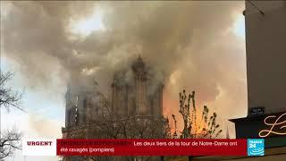 Download SANS COMMENTAIRE - Incendie de la cathédrale Notre-Dame de Paris Video