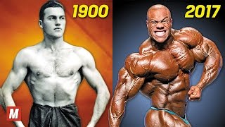 Download Evolution of Bodybuilding | From 1900 To 2017 Video