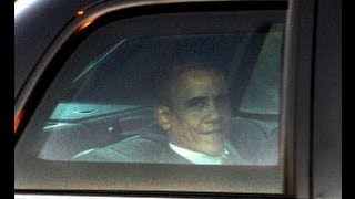 Download President Obama's Escort with Motorcade, Secret Service, passing by on 53-rd str., Manhattan, NY Video