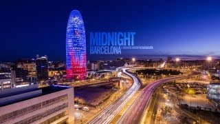 Download Midnight Barcelona - 1080p HD Timelapse Video