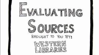 Download Evaluating Sources Video