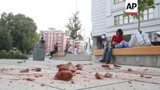 Download Magnitude-5.3 quake hits Macedonia Video