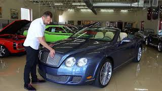 Download '10 Bentley Continental GTC Speed for sale with test drive, driving sounds, and walk through video Video