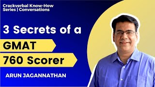 Download 3 Things to learn from a GMAT 760 scorer Video