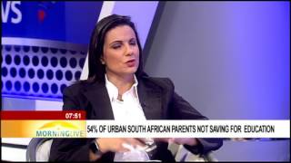 Download 54% of urban South African parents not saving for education Video