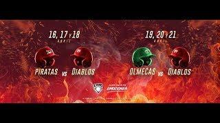 Download ¡En vivo! Piratas vs Diablos Rojos Juego 2 Video